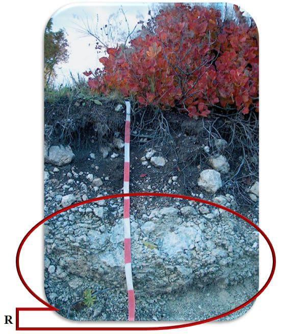 Рис. 13  R-плотная массивно-кристаллическая или подстилающая порода